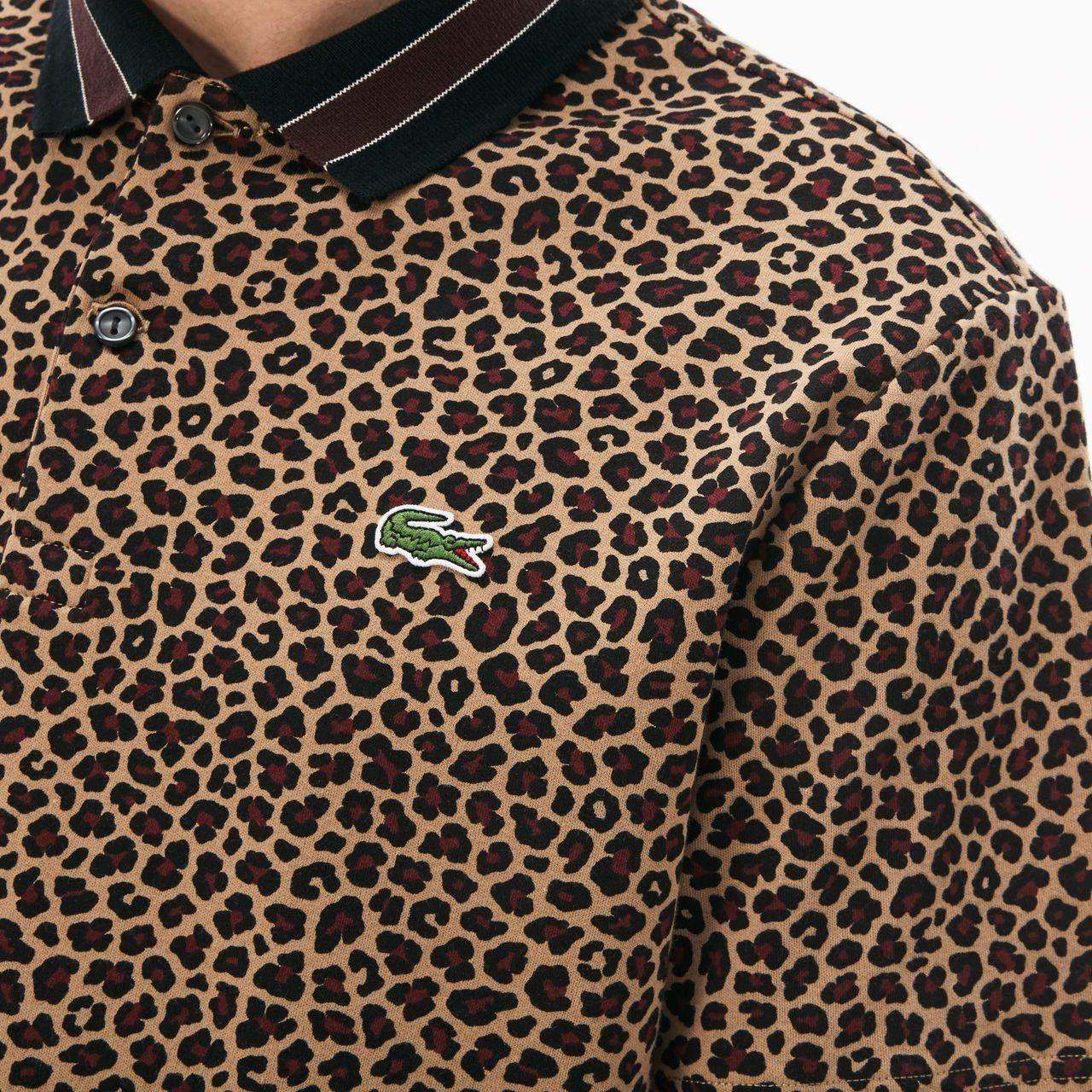 Lacoste Polo Live1 marrón/Granate/Multi Talla: S (Small): Amazon ...