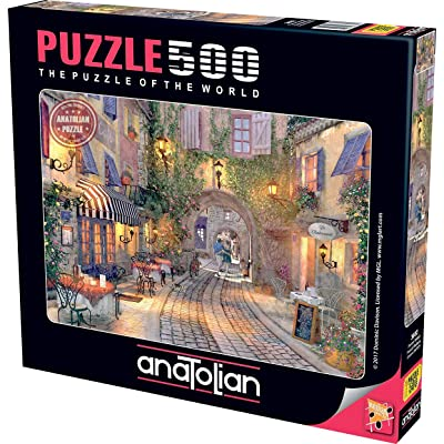 Puzzle: 500 French Walkway: Toys & Games
