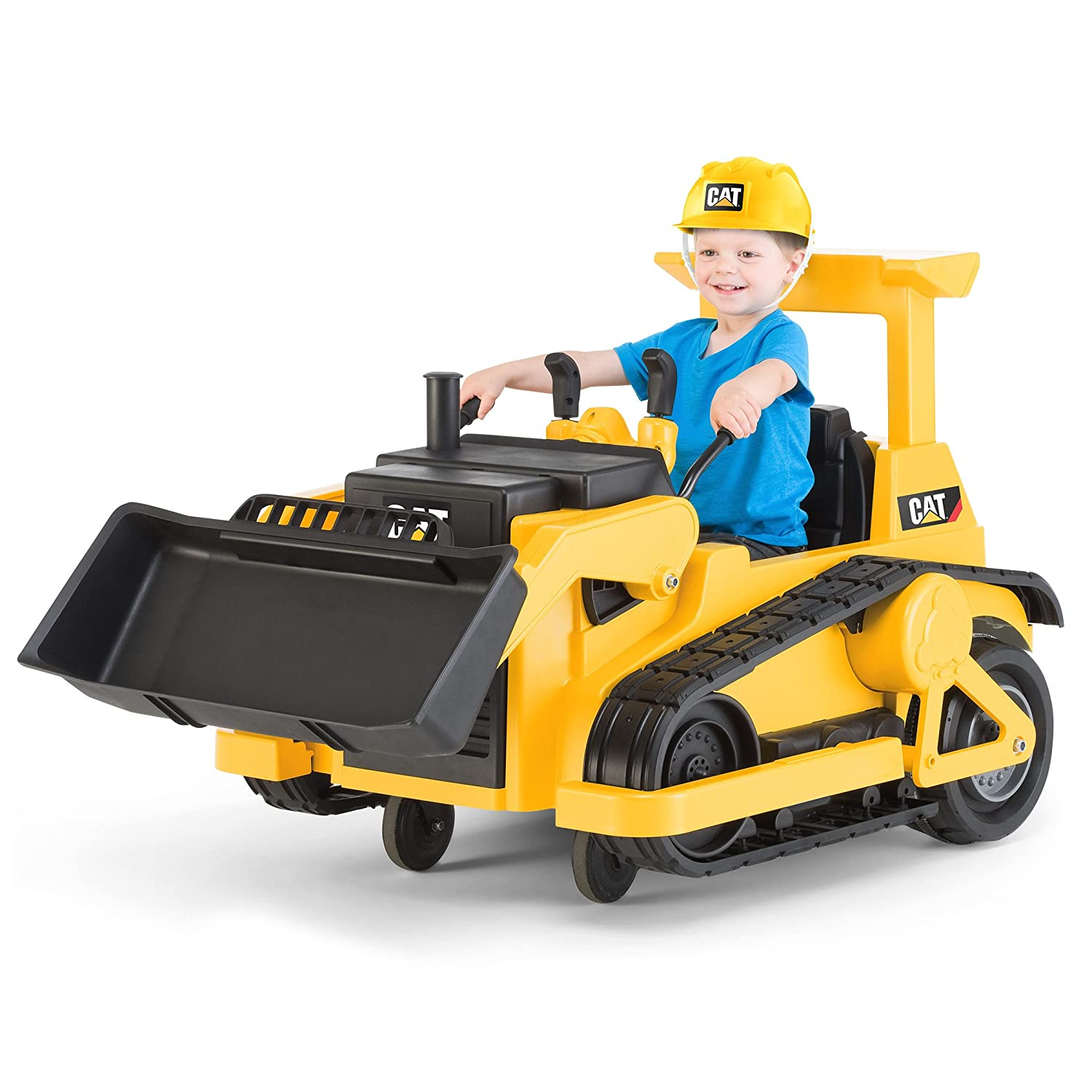 Battery Operated Ride On Toys >> Kid Trax Cat Bulldozer 12v Battery Powered Ride On Toy Renewed