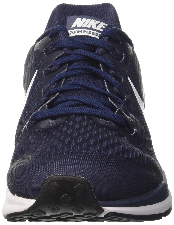 Nike Chaussures Air Blanc Bleu Zoom Pegasus 34  Chaussures de