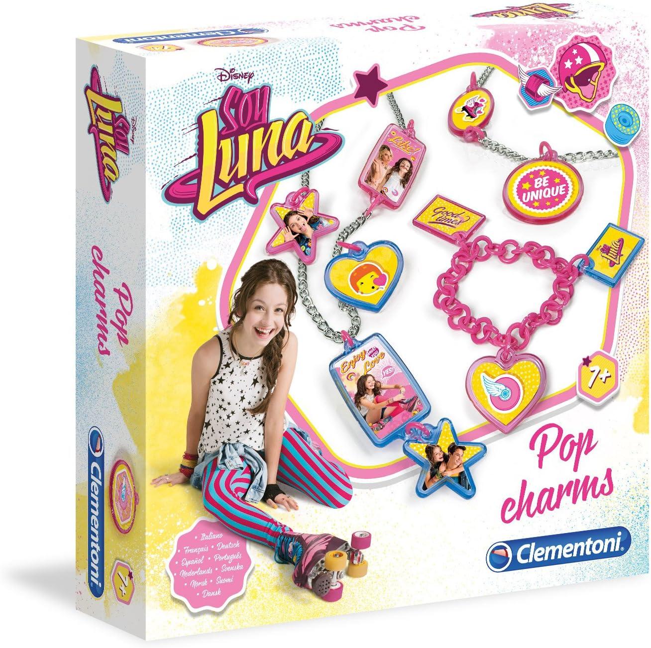 Clementoni Soy Luna - Kit de Crear Collares 15161.5: Amazon.es: Juguetes y juegos