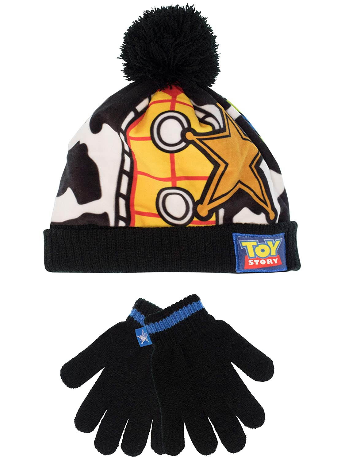 Disney Boys Toy Story Hat and Gloves Set One Size