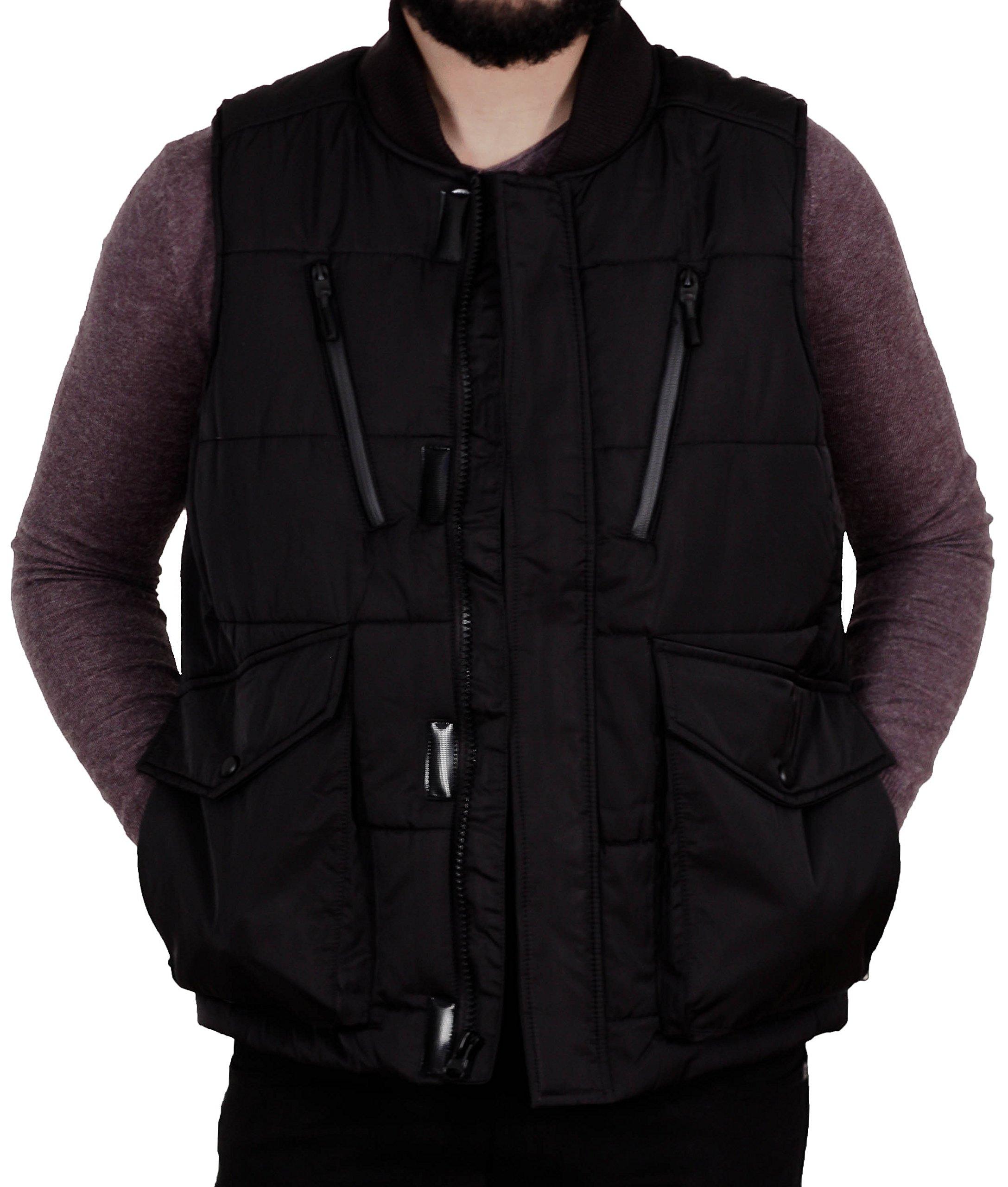 Jordan Craig Men's PU Coated Puffer Vest