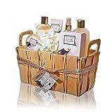 Green Canyon Spa Gift Basket Set in French Vanilla