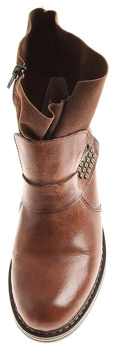 Rieker Booty 2331 Damen Schuhe Stiefelette leicht gefütterte Kurzstiefel