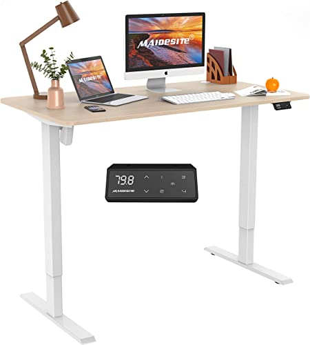 Electric Height Adjustable Standing Desk Stand Up Desk Sit Stand Desk - the best home office desk for the money