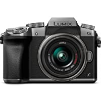 Panasonic LUMIX DMC-G7KS DSLM Mirrorless 4K - Camera, 14-42 mm Lens Kit, plateado