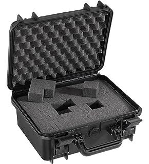 Waterproof Water Tight Protective Gear Tools Hard Case MAX235H155 w// Foam Black