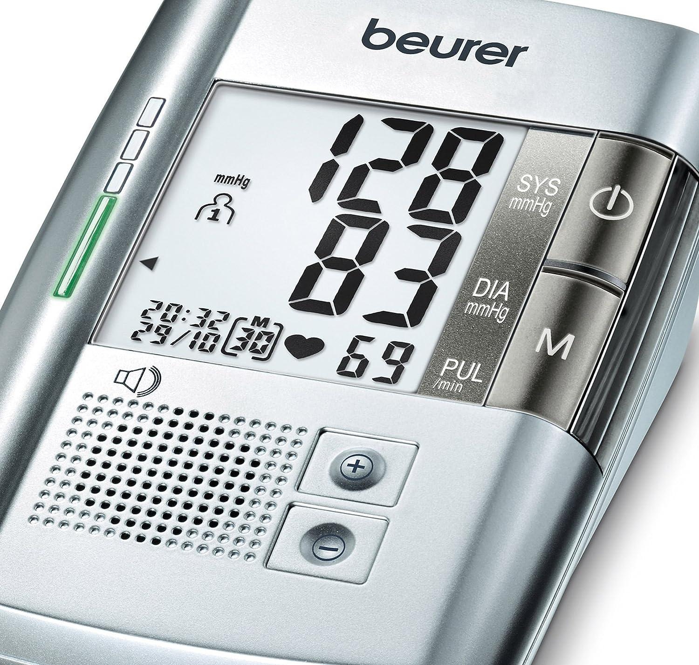 Amazon.com: Beurer BM19 Talking Upper Arm Blood Pressure ...