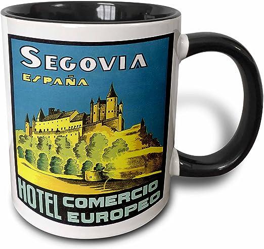 3dRose Vintage Segovia Espana Hotel Comercio Europa España Luggage ...