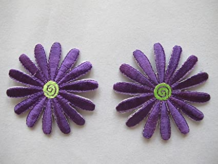 Ravelry spring daisy applique pattern by crochet creation s by ness