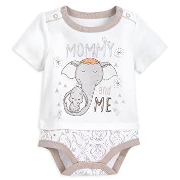 cf8d1bb659630 Amazon.com: Disney Dumbo Bodysuit for Baby Size 0-3 MO Multi: Baby