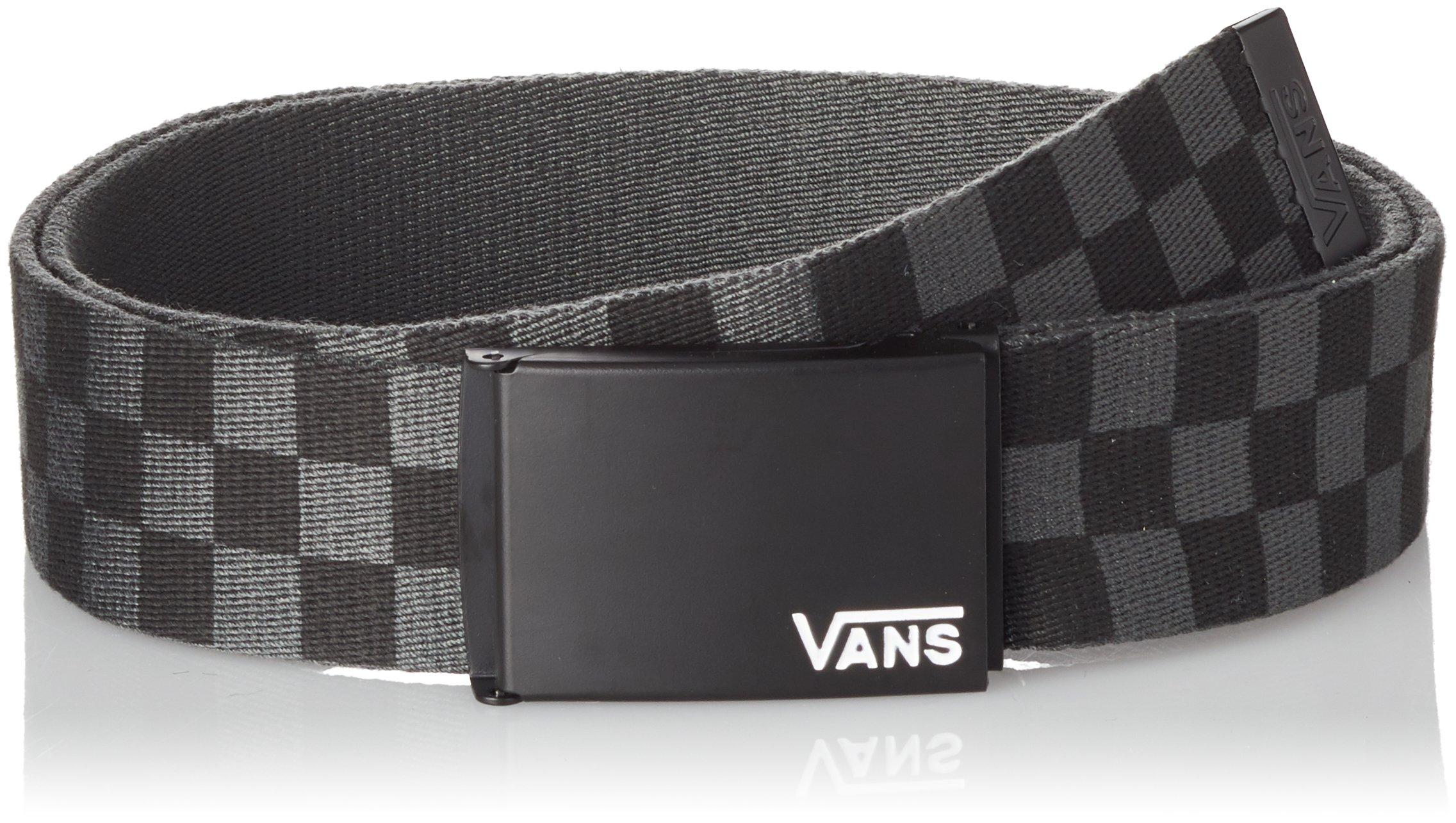 VANS Deppster II Web Belt One Size Black Charcoal