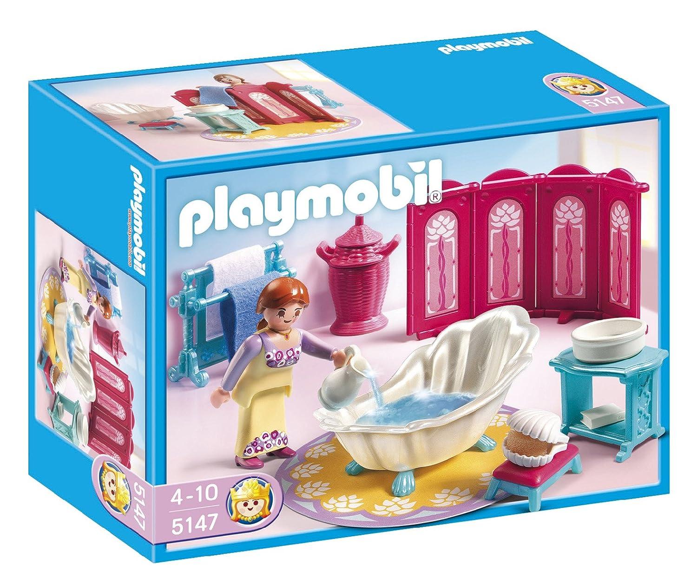 Salle De Bain Playmobil ~ playmobil 5147 jeu de construction salle de bains royale