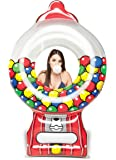 BigMouth Inc Giant Gumball Machine Pool Float, Funny Inflatable Vinyl Summer Pool or Beach Toy, Patch Kit Included