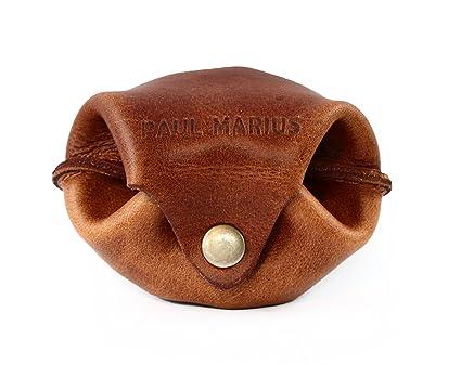LESCARCELLE cartera de cuero, monedero estilo vintage PAUL MARIUS Vintage & Retro