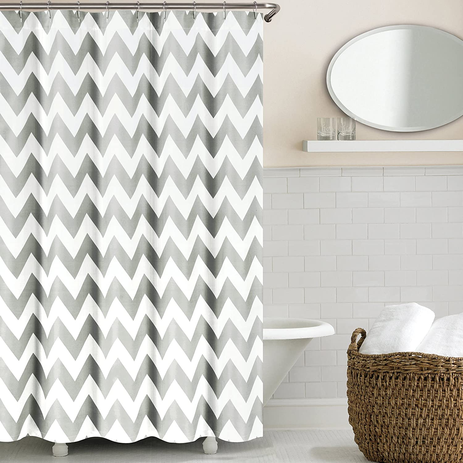taupe qlt essential home shower stripe spin wid morning fabric prod p curtain curtains hei