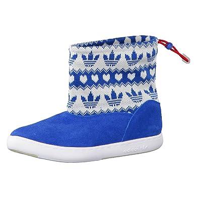 adidas Originals M ATTITUDE WINTER G63073, Damen Stiefel, Blau  (DRKROY/DRKRO)