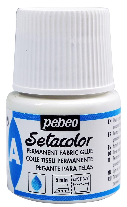 Pebeo Setacolor Auxiliary Permanent Glue, 45ml 391015