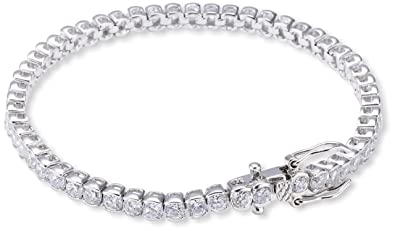 wholesale sales good selling factory outlet s.Oliver Damen Armband 925 Sterling Silber weiß