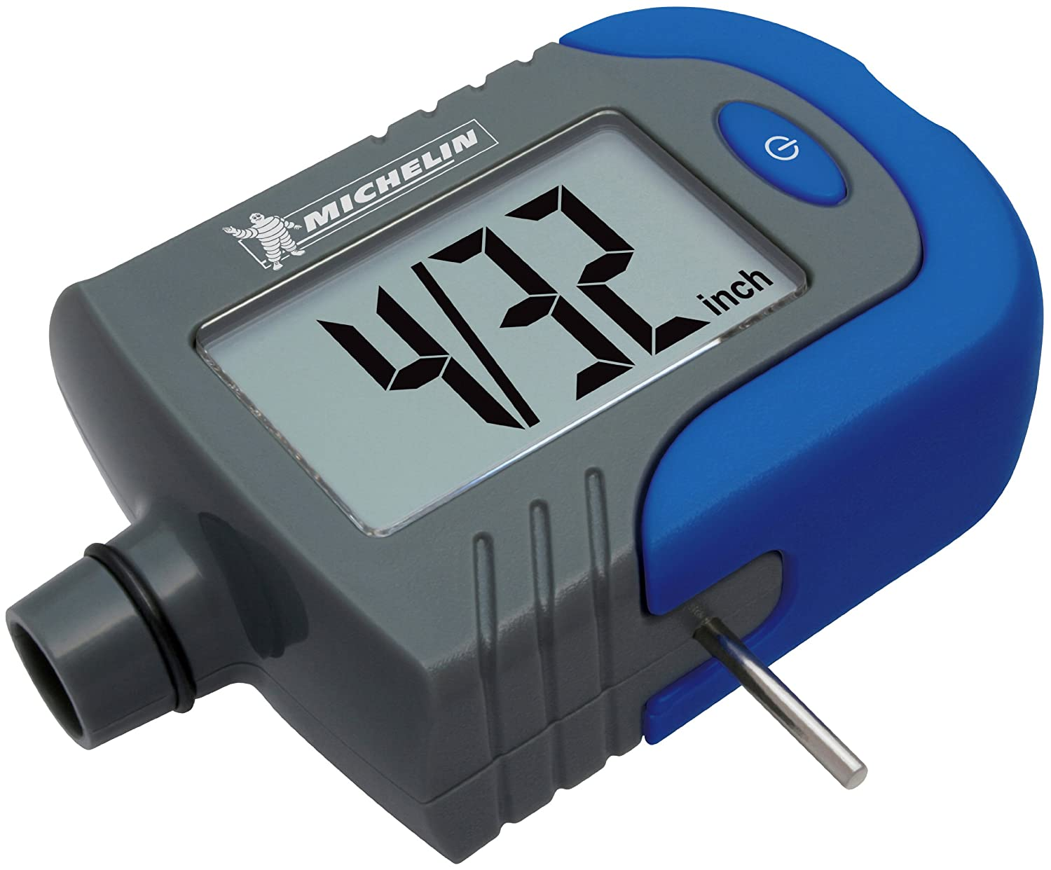 Measurement Limited Michelin MN-4203B Digital Tire Gauge with Tread Depth Indicator