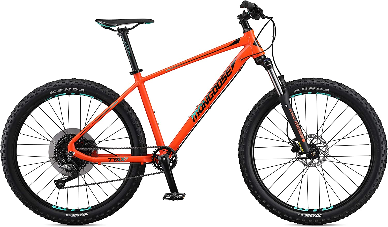 Mongoose Tyax Comp Rigid Hardtail Mountain Bike