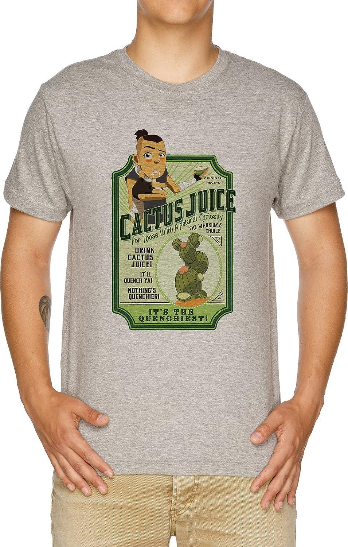 Vendax Drink Cactus Juice Camiseta Hombre Gris: Amazon.es: Ropa y accesorios