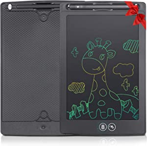 LCD Writing Tablet, 8.5-inch Electronic Doodle Board, Portable Erasable Drawing Board with Stylus Pen, Reusable Handwriting Pad, Girls Boys Birthday and Toys for Ages 3+ Adults and Kids