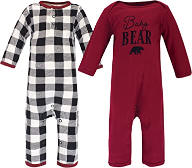 3-6 Months Touched by Nature Baby Organic Cotton Sleep and Play Tree Plaid