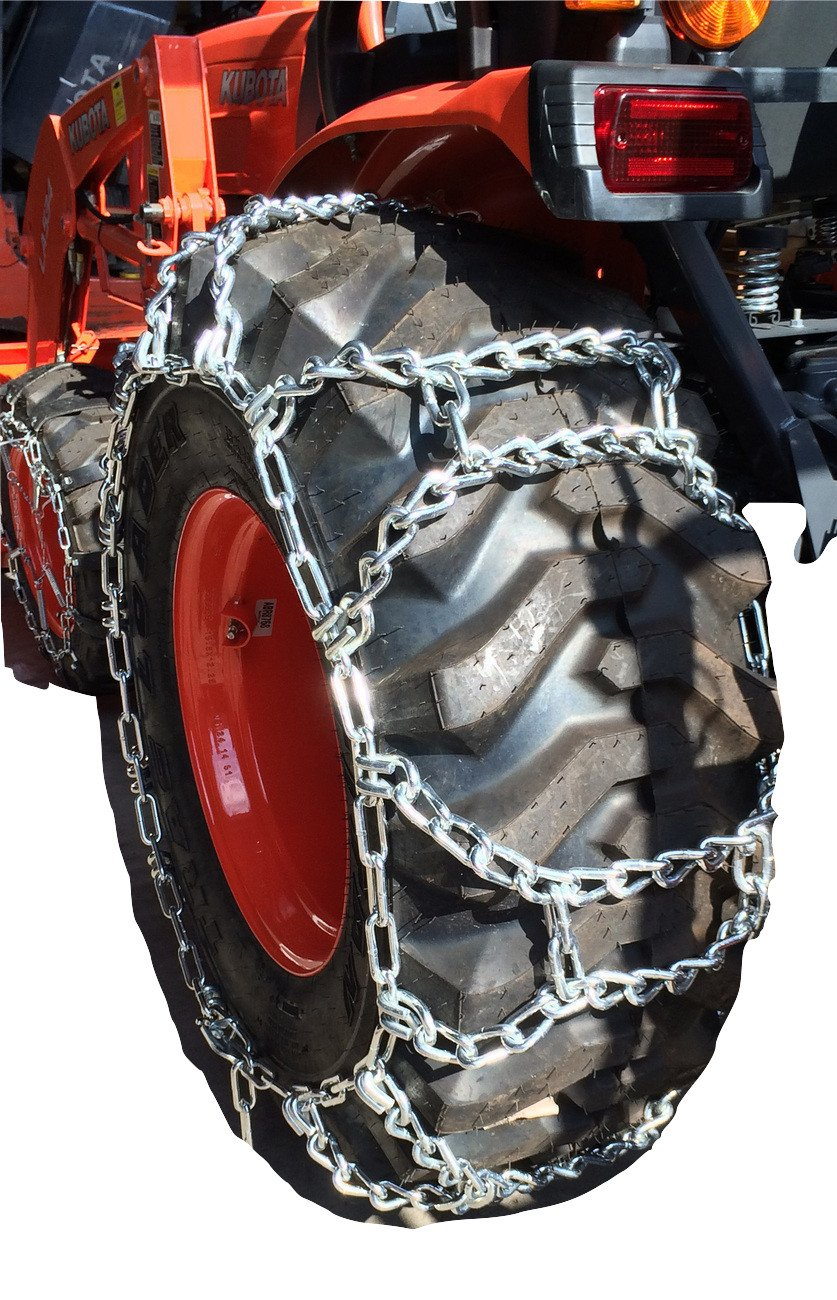 TireChain.com 15-19.5, 15 19.5 Duo Grip Tractor Tire Chains Set of 2 by TireChain.com (Image #3)