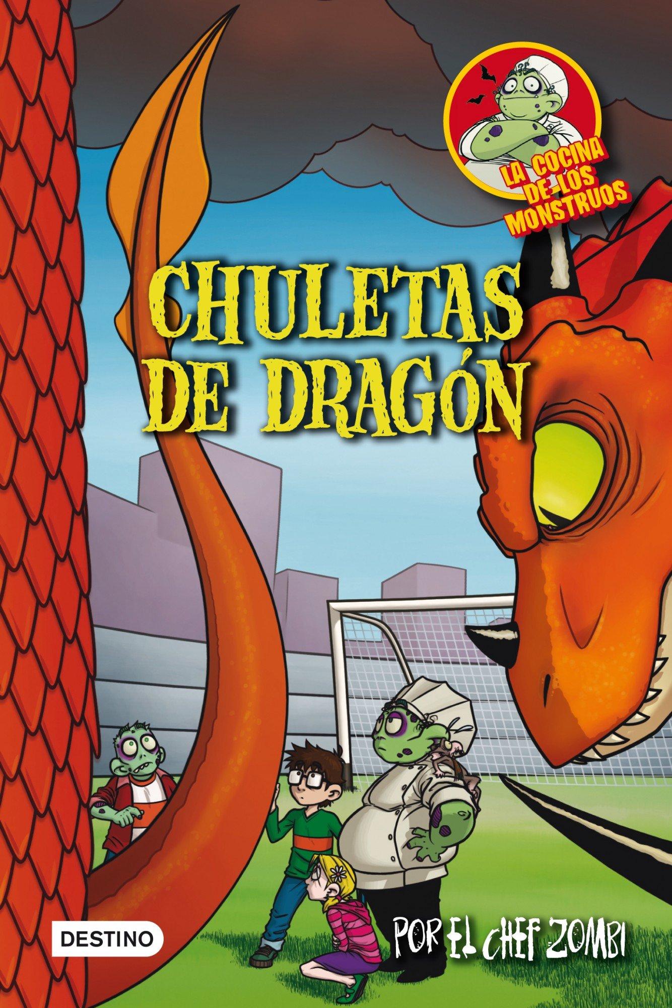 La cocina de los monstruos 7. Chuletas de dragón (Cocina Monstruos)
