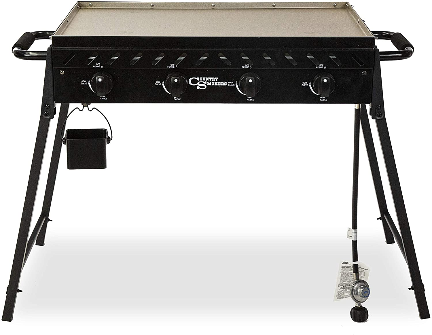 Country Smokers The Highland 4-Burner Portable Griddle