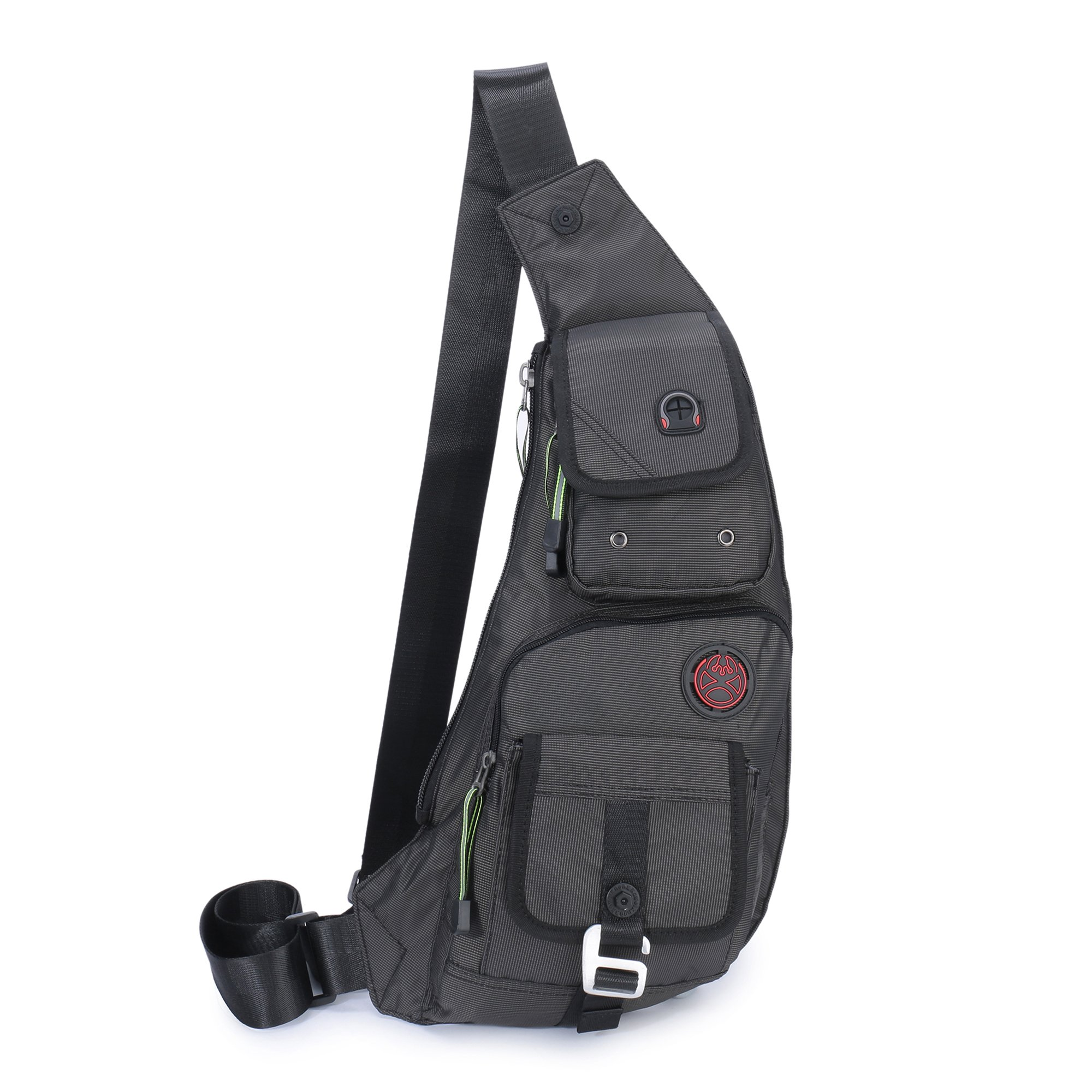 f829870c71b3 DDDH Sling Bags Shoulder Backpack Chest Pack Military Crossbody Bags For  Man Women (2627 Black)