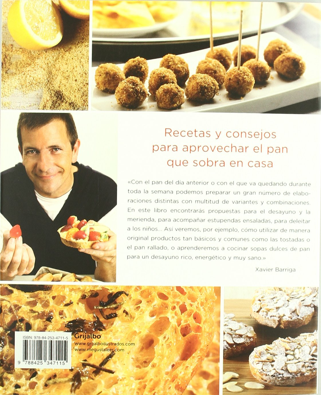 Recetas Caseras Con Pan De Ayer (Sabores): Amazon.es: Xavier Barriga: Libros