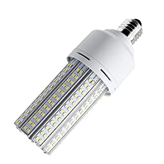 New Sunshine 30W LED Corn Light Bulb for Indoor Outdoor Standard E26 Base 3750Lm 5000K Cool White,for Street Lamp Gymnasium Garage Factory Warehouse High Bay Barn Porch Backyard Garden Super Bright