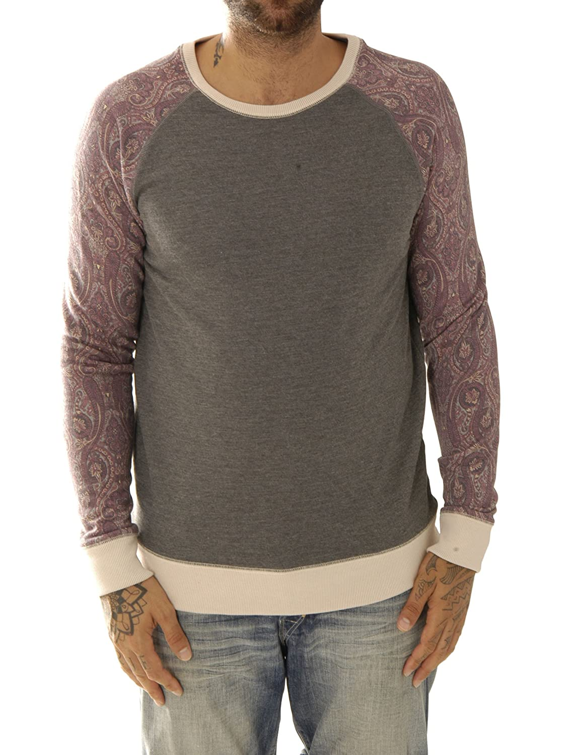 Kultivate Herren Sweat-Shirt Sw Curly Usp1501031044-11