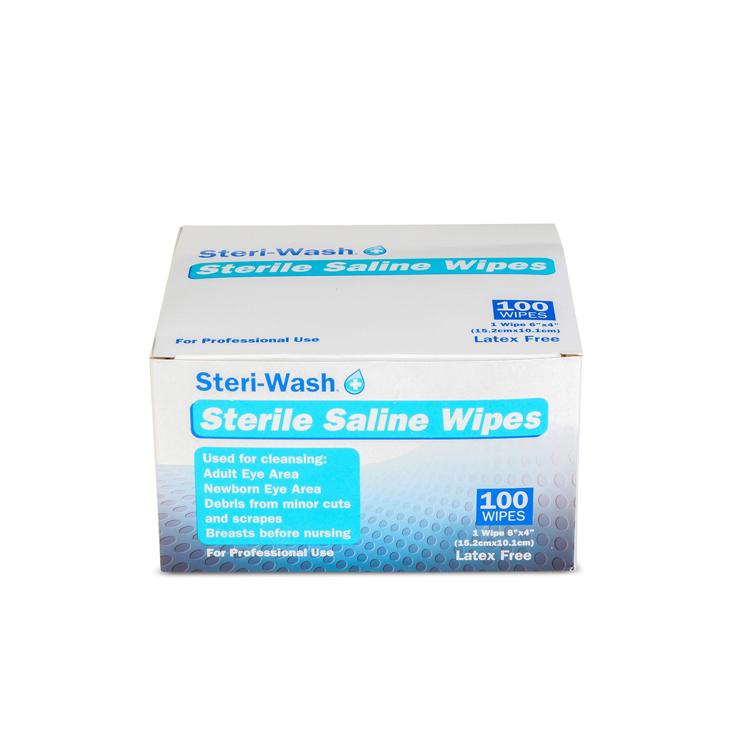Steri-Wash Aftercare Piercing Wipes 100 Count by STERI - WASH