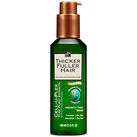 Thicker Fuller Hair Instantly Thick Serum, 5 Ounce Pack of 6