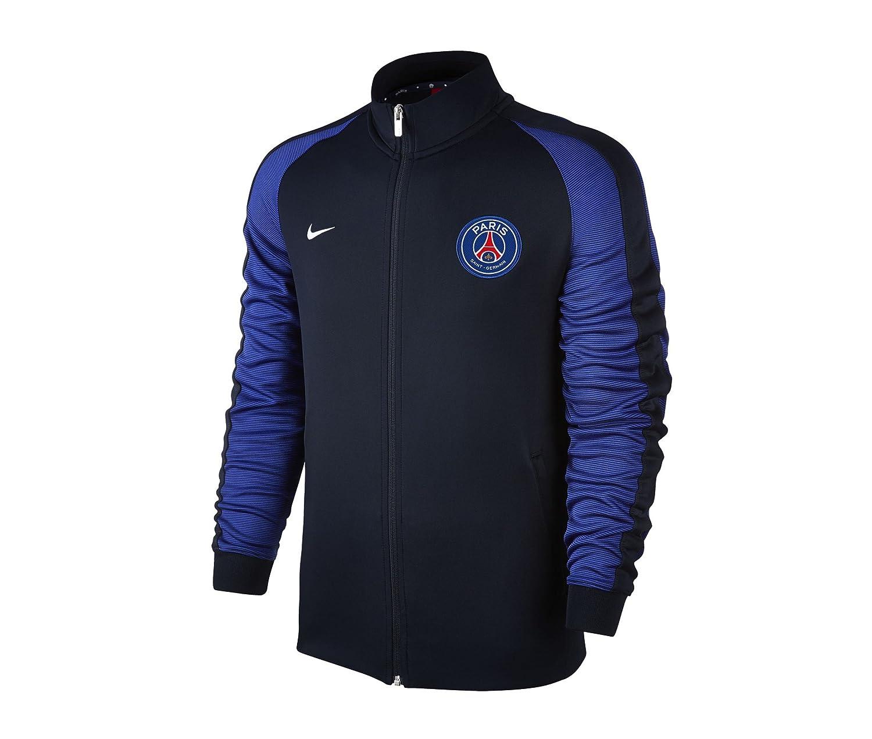 035b7e5c1 2016-2017 PSG Nike Authentic N98 Track Jacket (Navy)