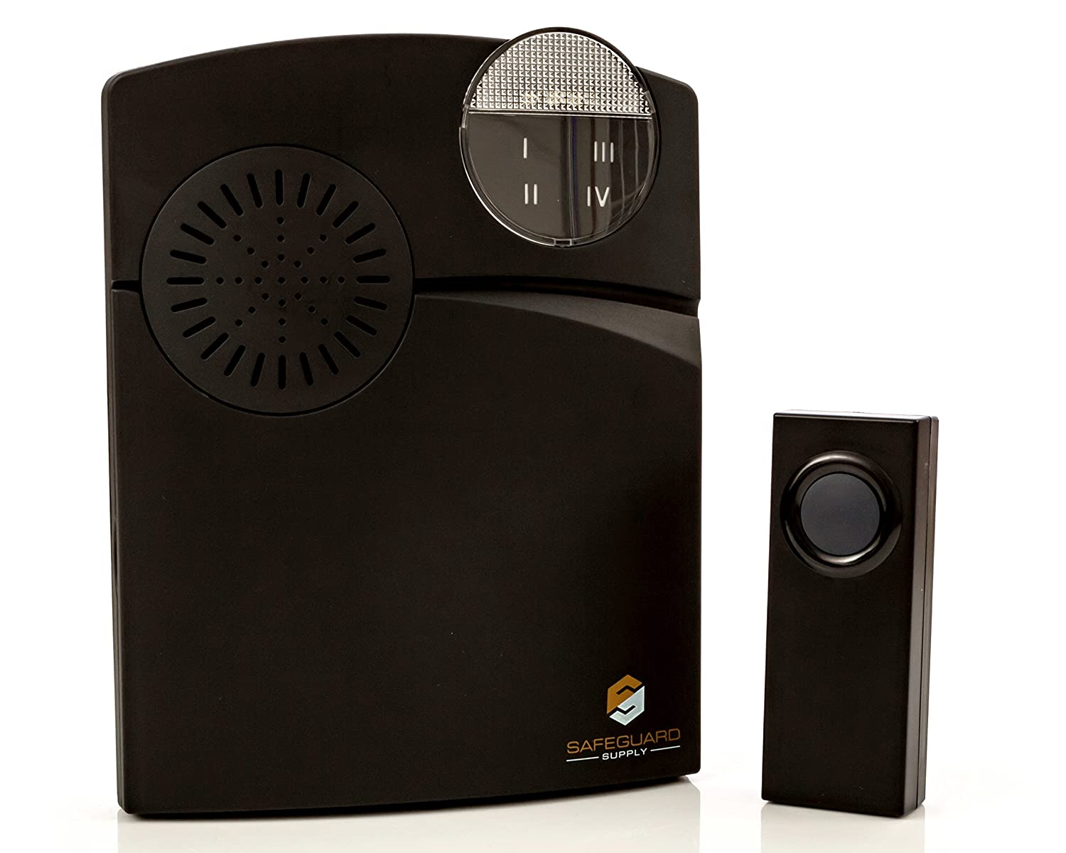 Wireless Doorbell - Long Range Wireless Doorbell 1000' Range - Wireless Doorbell System with Flashing Light for The Hearing Impaired