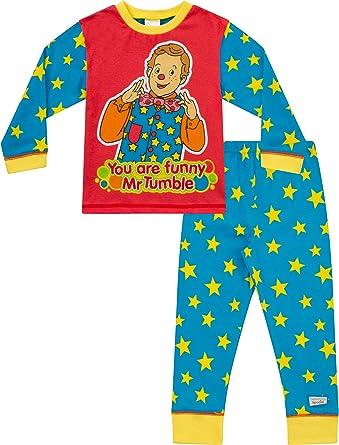 thepyjamafactory Niños Mr Secadora Something Special Pijama – a Partir de 1 – 5 años – los niños PJ Juegos
