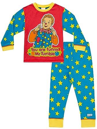Boys Mr Tumble Something Special Pyjamas - Ages 1-5 Years - Kids PJ Sets   Amazon.co.uk  Clothing a6a9eea63