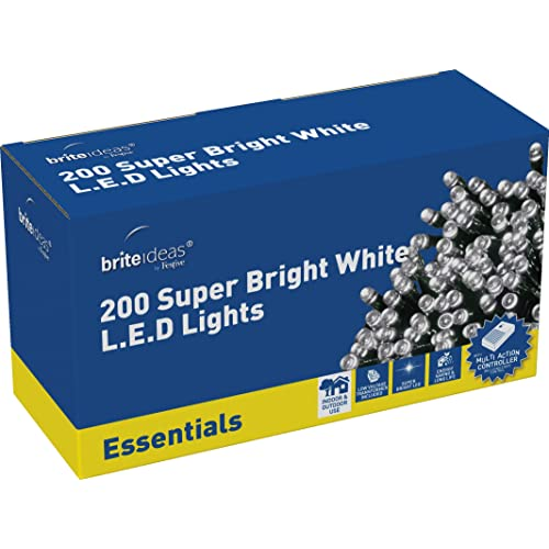 Brite Ideas Festive Productions 200 LED Lights - White