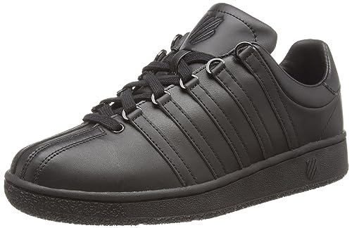 K-Swiss Men's Classic VN Sneaker, Black/Black, ...