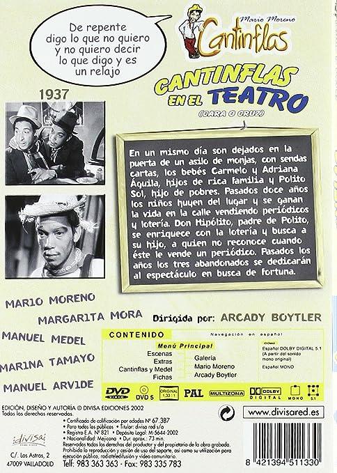 Amazon.com: Cantinflas En El Teatro [1938] (Import Movie) (European Format - Zone 2): Movies & TV