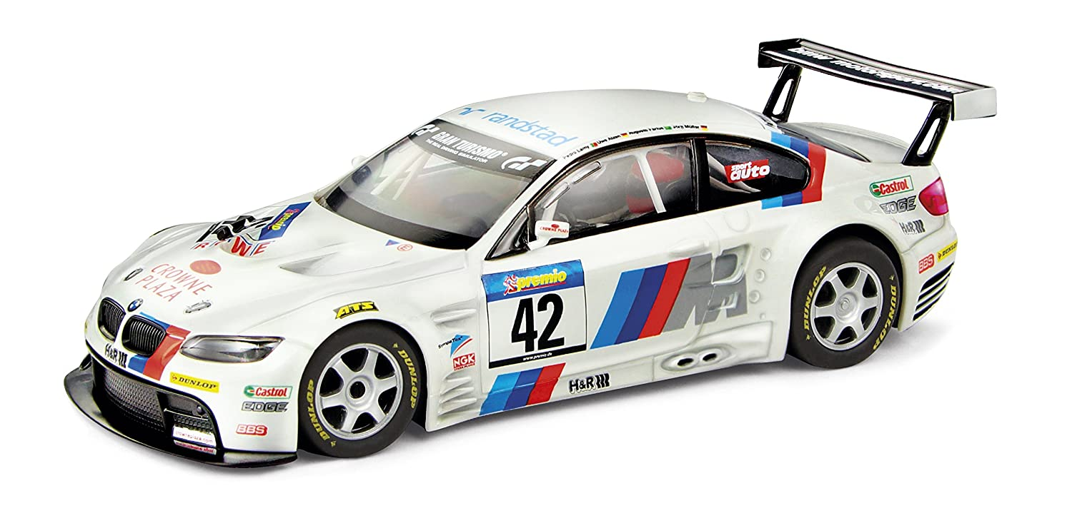 Scalextric Original BMW M GT Crowne Plaza Fábrica de Juguetes AS