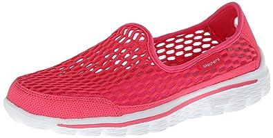 Top fashion Skechers Go Walk 2 Super Sock 2.0 Hot Pink