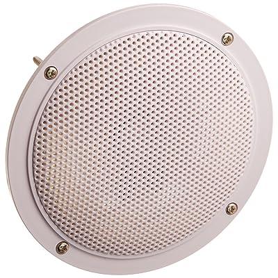 "5.25"" Dual Waterproof Marine Speakers - 100W 4Ohm Outdoor Car/Boat Radio Stereo Speakers Waterproof/Weather Proof Marine Stereo Speakers System Pair - Mounting Kit, Speaker Wire, Grill- Pyramid MDC6: Car Electronics"