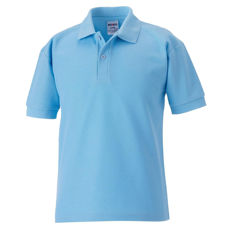 Jerzees Schoolgear Childrens 65/35 Pique Polo Shirt Jerzees Schoolwear 539B JERZEESSKOOLGEAR-PIQUEPOLO