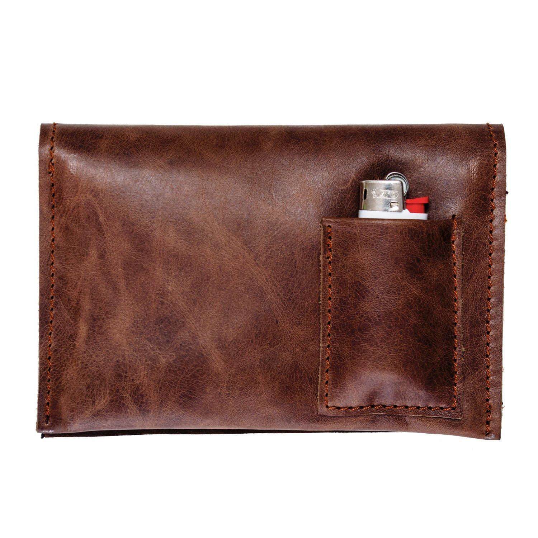 Portatabacco Borsello Astuccio in vera pelle TOBACCOSENSATION Idea Regalo Porta Tabacco Pellein